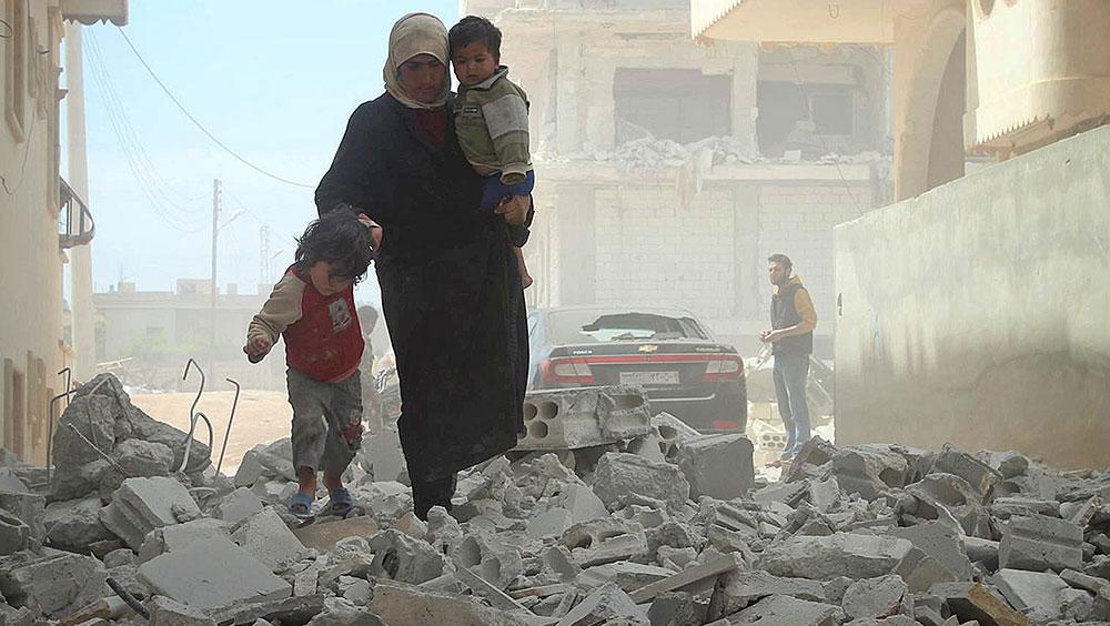 Sirija, grad Idlib na severozapadu zemlje, Getty Images ©