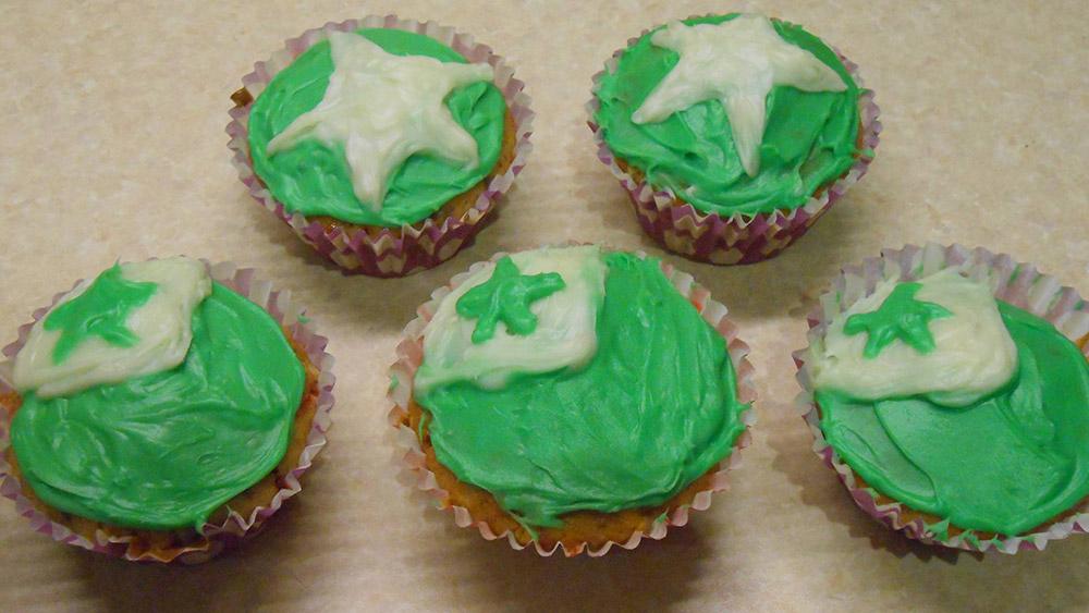 Esperanto day cake, Duolingo