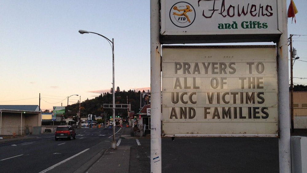 Roseburg, Oregon, 2. oktobar 2015, foto: Cat Wise/PBS NewsHour