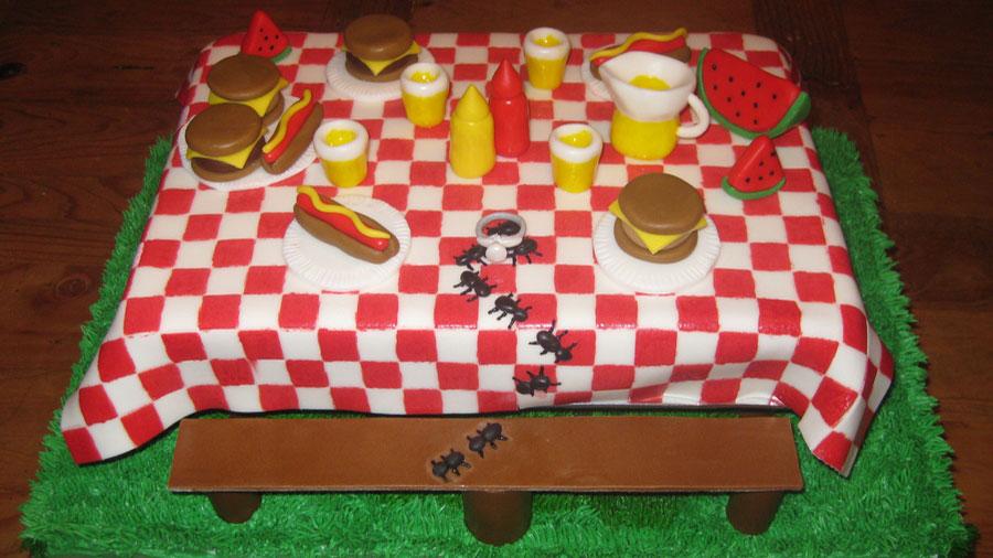 Mravlji piknik, Table decorations