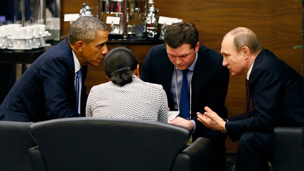 Obama i Putin na G20 samitu u Turskoj 15. novembra 2015, foto: Cem Oksuz/EPA