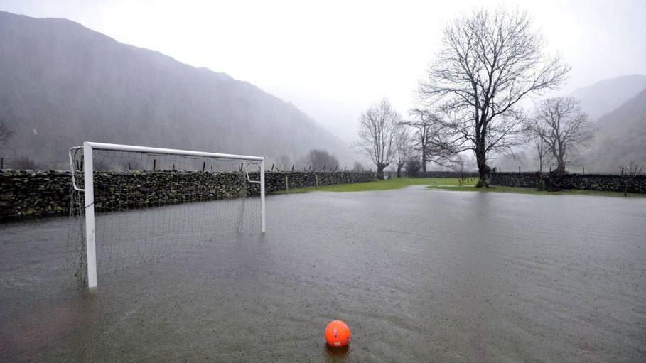 Velika Britanija, igralište pod vodom