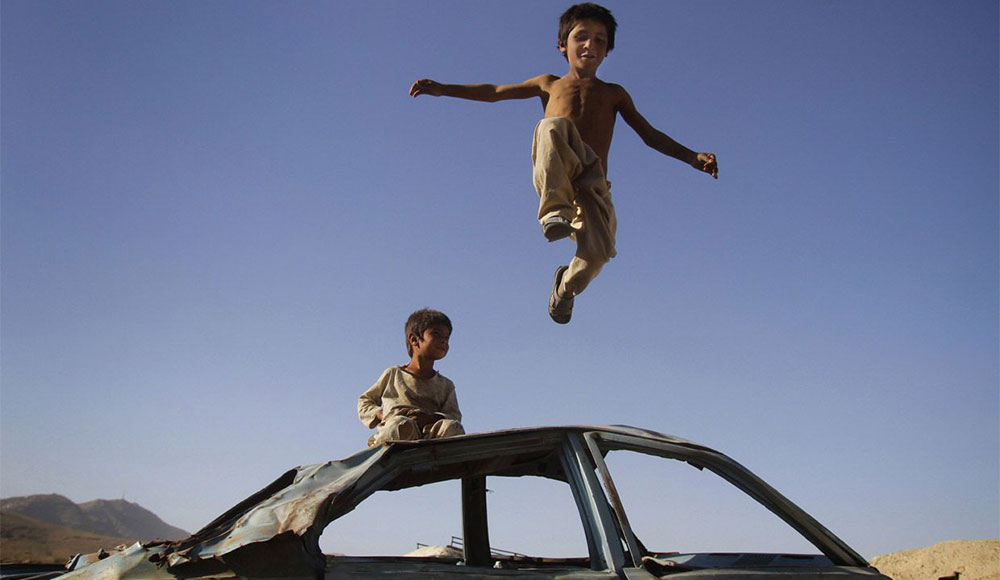 Deca rata, foto: AP/Ahmad Jamshid