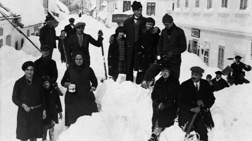 Gospić 1929, -36°C i 285 cm snijega