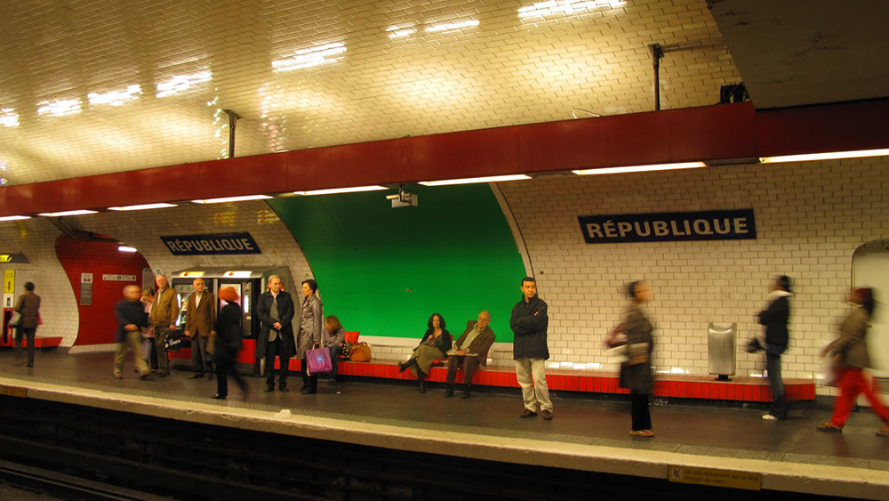 Pariski metro, fotografije čitateljki, Neda Radulović-Viswanatha