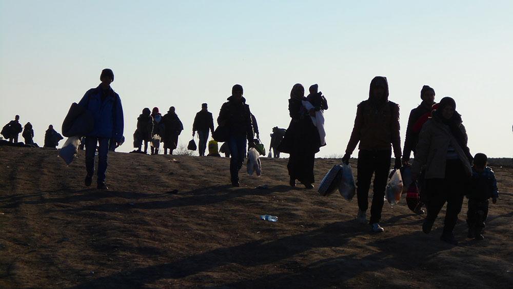 Prelaz Miratovac, Preševo, Komesarijat za izbeglice i migracije Srbije, iz foto žurnala MIC Niš