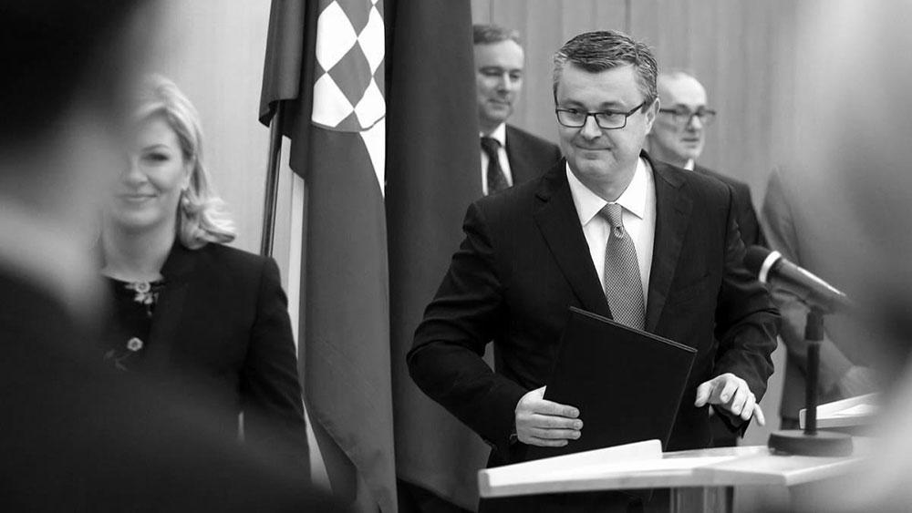 Rent-a-premijer – biznismen Tihomir Orešković, foto: Jurica Galoić/PIXSELL