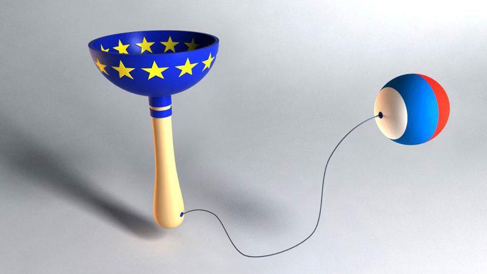 Ubaci Srbiju u Evropsku uniju, Peščanik igračka, dizajn: Svetlana Ćopić