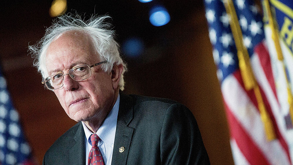Bernie Sanders, foto: Andrew Harrer/Bloomberg/Getty Images
