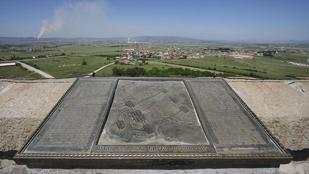 plan kosovske bitke, Gazimestan