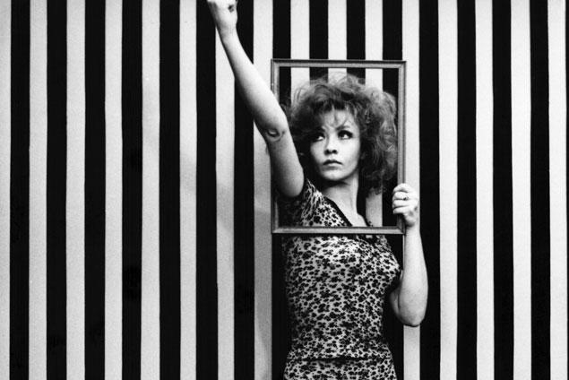 "Milena Dravić in Dušan Makavejev's film ""WR – Mysteries of the organism"" (1971)"