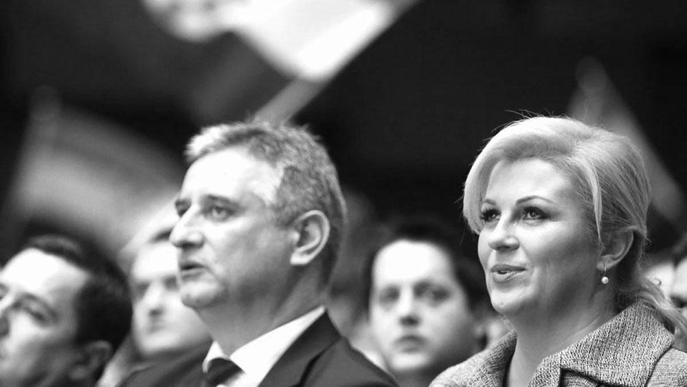 Nova runda ideološkog mahnitanja – Karamarko i Kolinda Grabar Kitarović, foto: Sanjin Strukić/PIXSELL