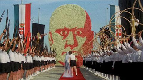 Scena iz filma Amarcord, Federico Fellini