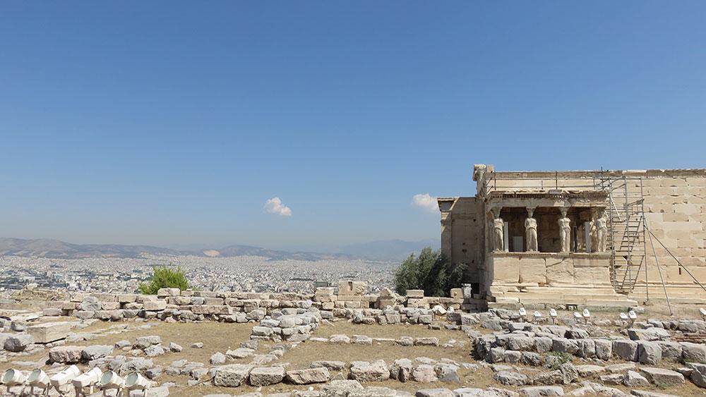 Akropolj, Atina 2015
