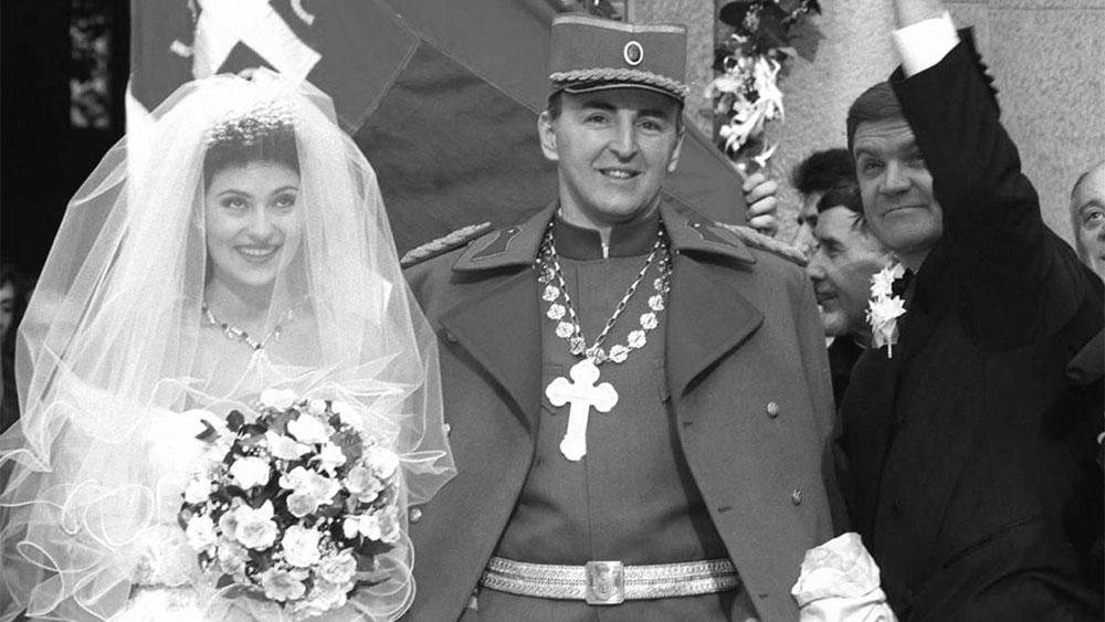 Ceca i Arkan 1995.