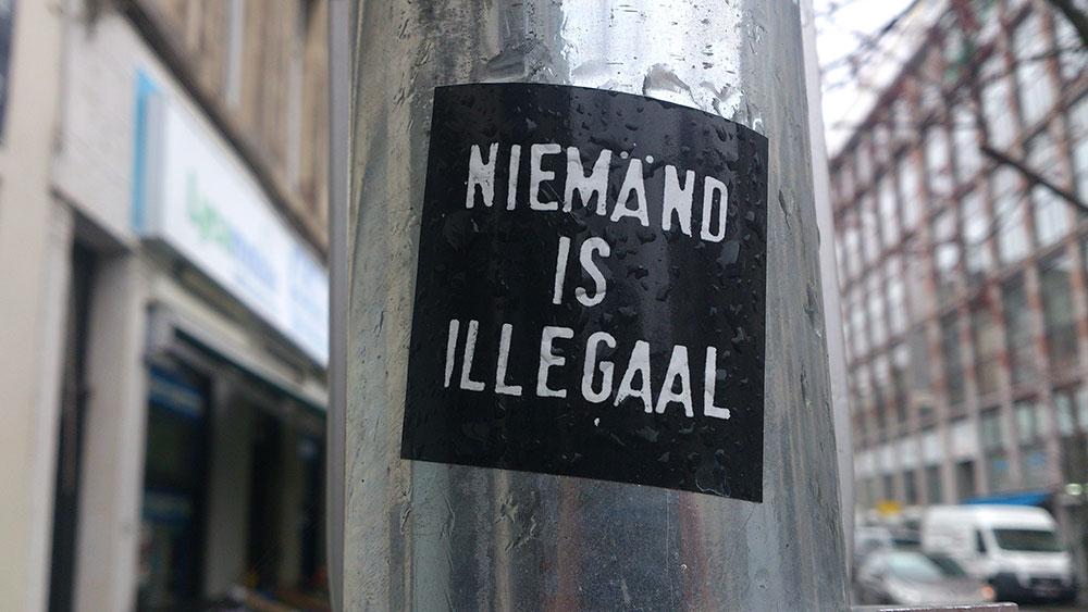 Brisel: Niko nije ilegalan, foto: Neda Radulović-Viswanatha