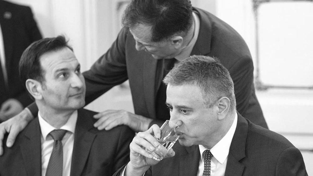 Miro Kovač i Tomislav Karamarko, foto: Željko Lukunić/PIXSELL