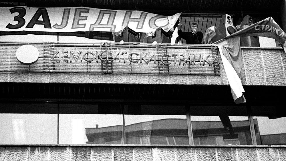 Protesti 1996/97, foto: Goranka Matić