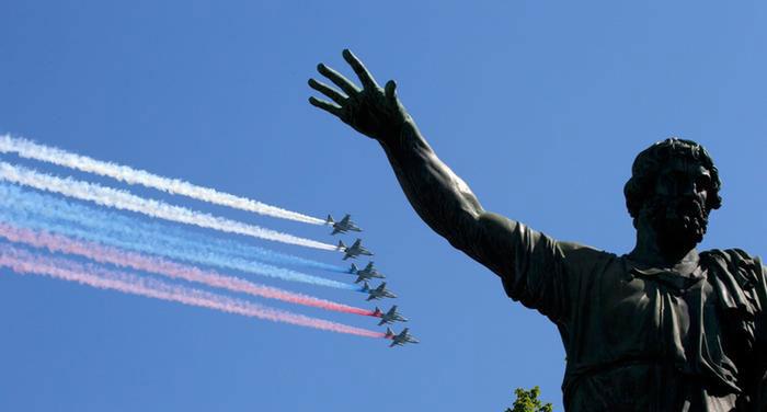 Dan pobede, Moskva, foto: S. Karpuin/Reuters