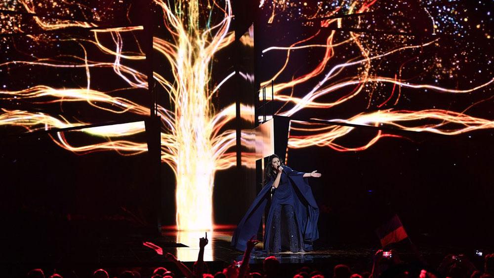 Džamala, pobednica Evrovizije 2016, foto: Martin Meissner/AP
