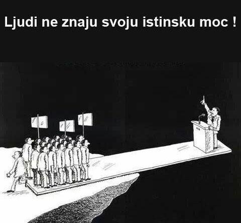 Ljudi ne znaju svoju istinsku moć