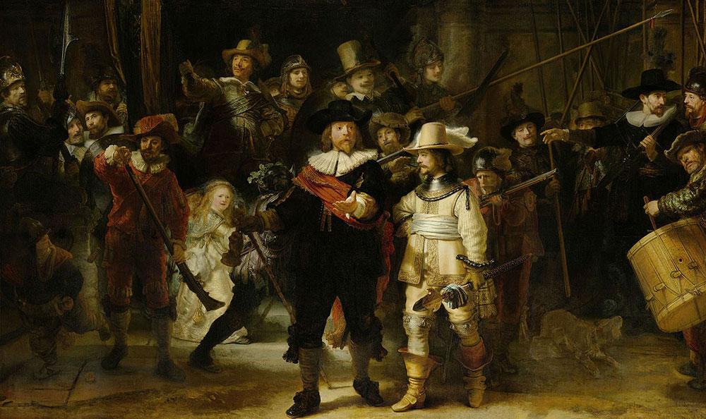 Rembrant, Noćna straža