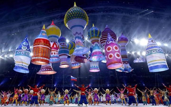 Zimske olimpijske igre u Sočiju, foto: Clay Paky