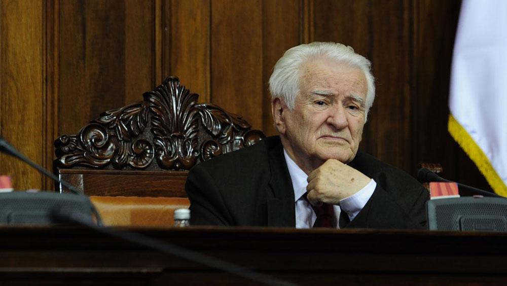 Dragoljub Mićunović, juni 2016.