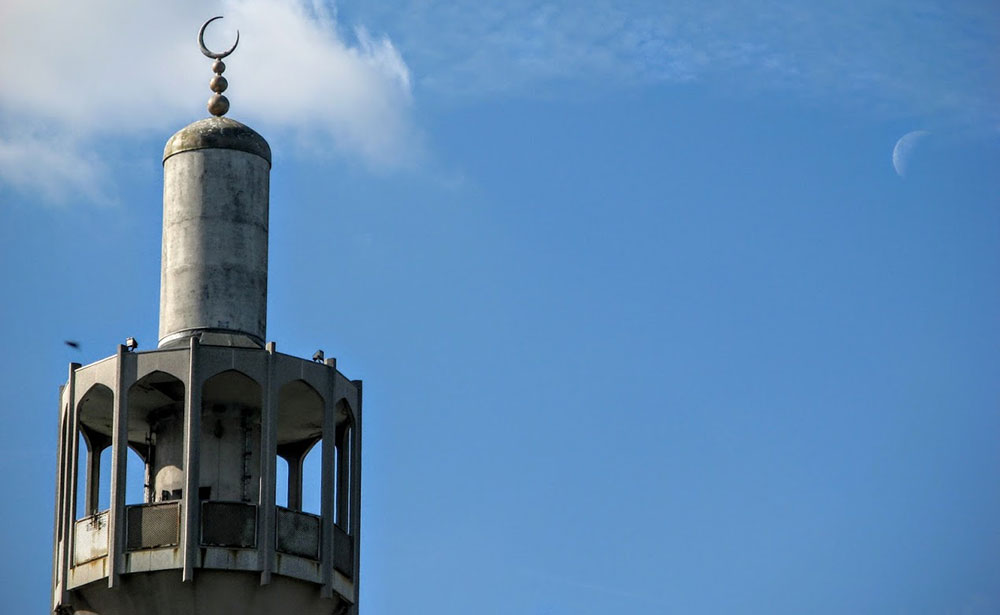 Glavna džamija u Londonu, foto: Neda Radulović-Viswanatha