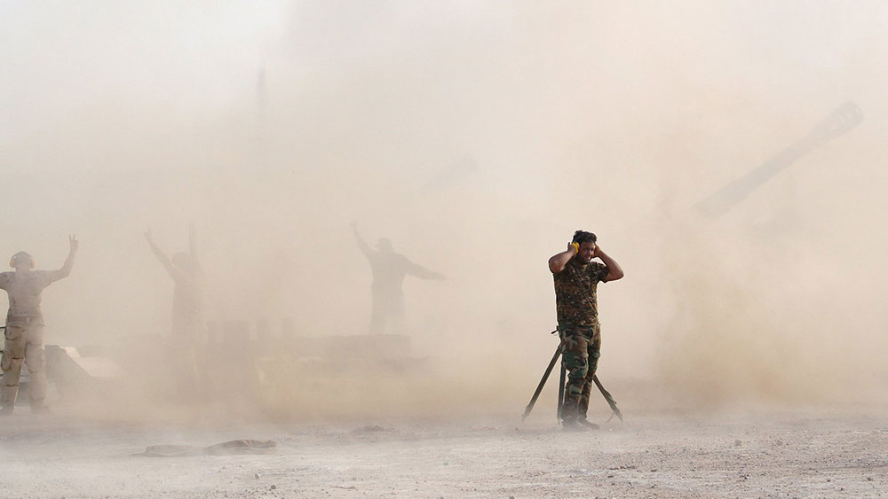 Irački vojnik u Faludži 1. juna 2016, foto: Alaa al-Marjani/Reuters