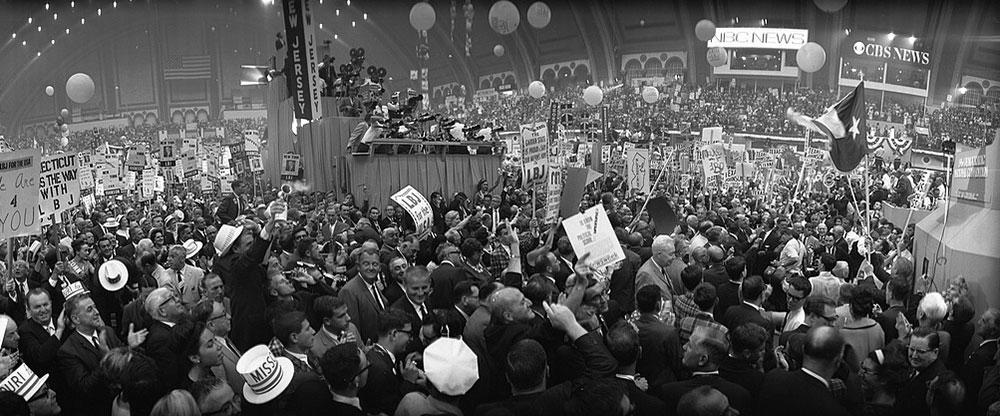 Konvencija Demokratske partije 1964, foto: Biblioteka Kongresa
