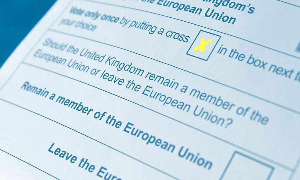 Referendum o brexitu 23. juna 2016.