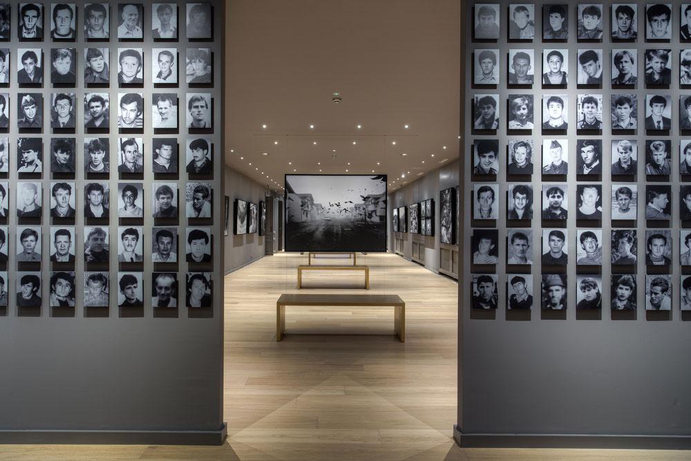 """Galerija 11/07/95, stalna postavka """"Srebrenica"""""""
