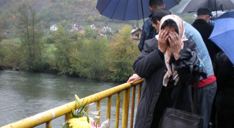 Sećanje na žrtve Sjeverina, foto: Danica Gudurić (RFE/RL)
