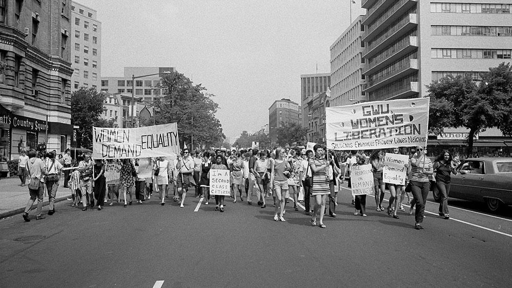 Marš za oslobođenje žena, Vašington, 1970, foto: Warren K. Leffler, Wikipedia