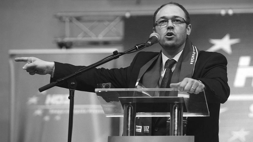 Poslanik HDZ u Evropskom parlamentu Davor Ivo Stier, foto: Borna Filić/PIXSELL