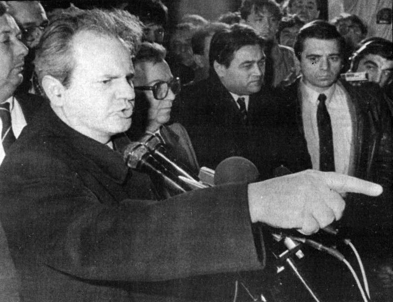 Slika 3: Miloševićev noćni govor, 28. februar 1989.