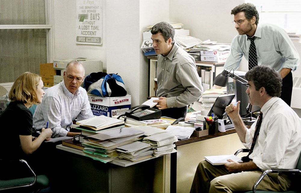 Tom McCarthy, Spotlight, 2015.