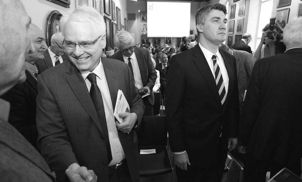Josipović i Milanović, foto: Anto Magzan/PIXSELL