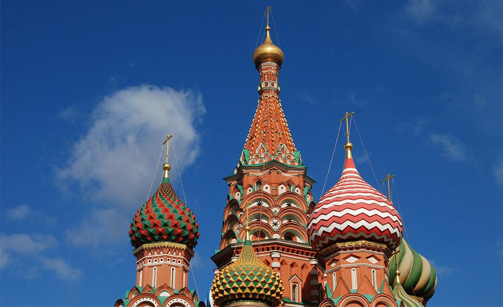 Kupole crkve Sv. Vasilija Blaženog, Moskva, foto: Konstantin Novaković