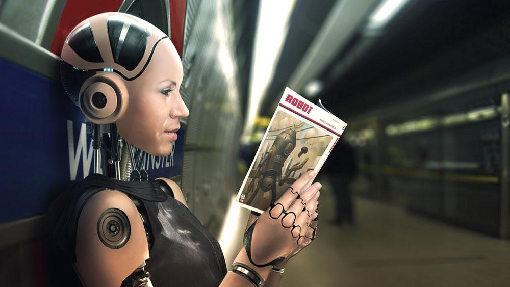 Do androids read robot book
