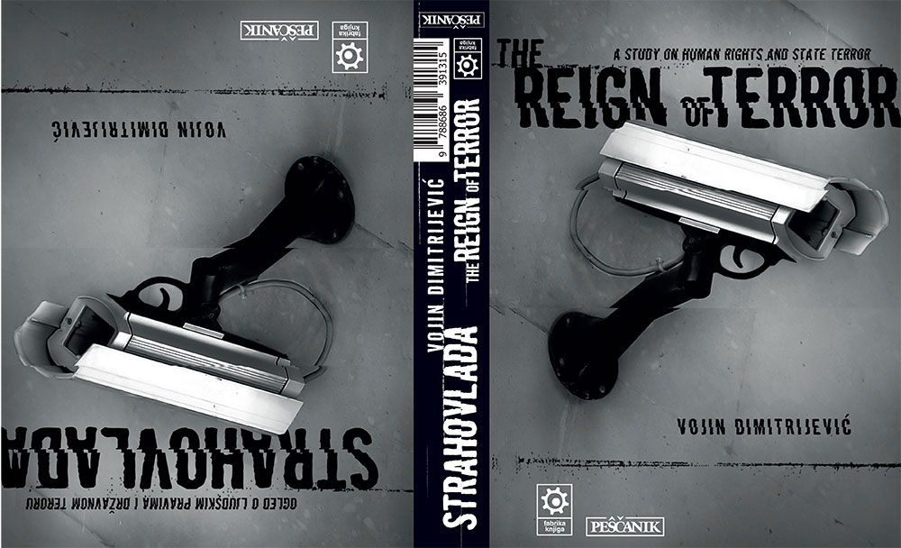 Book cover, design: Slavisa Savić