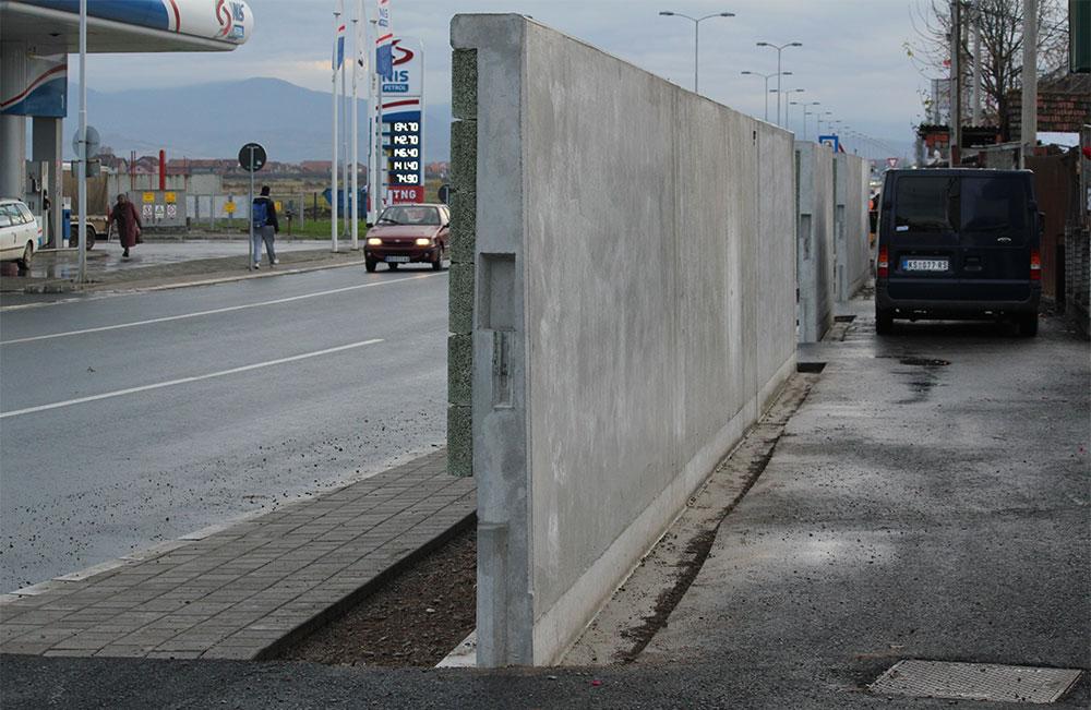 Zid u Kruševcu, foto: Dimitrije Petković