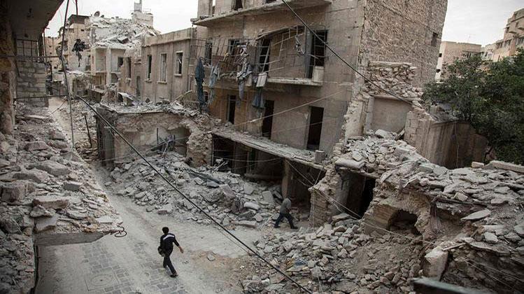 Alepo, maj 2016, foto: Karam Al-Masri/AFP/Getty