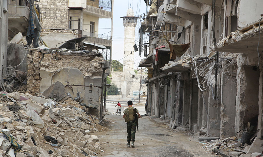 Alepo, prekid vatre u avgustu 2015, foto: Abdalrhman Ismail/Reuters