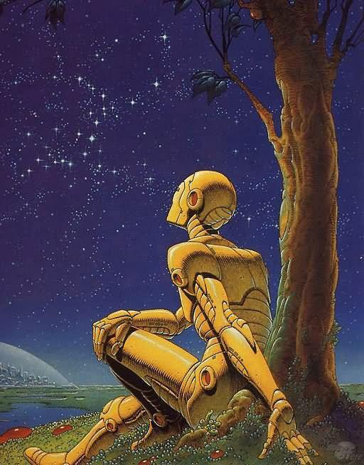 Isak Asimov, robot