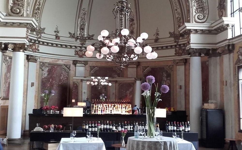 Restoran Salon 1905 u zgradi Geozavoda, foto: BIRN