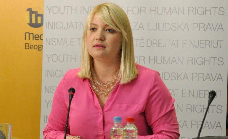 Direktorka Inicijative Anita Mitić, foto: Medija centar u Beogradu