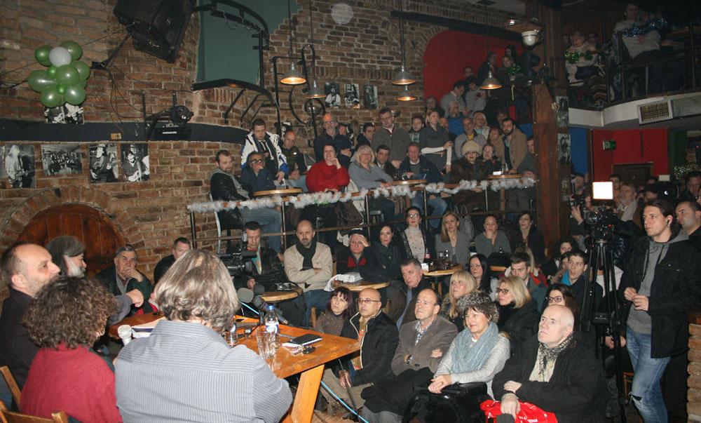 Tribina u Pančevu 12. januara 2017.