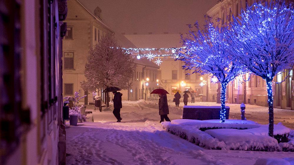 Varaždin u snijegu, foto: Siniša Sović